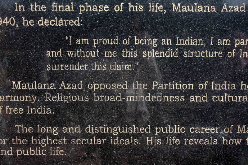Delhi Speeches -- Abul Kalam Azad, Jama Masjid, 1947