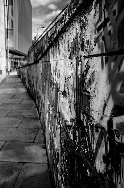 A Wall Somewhere in Edinburgh