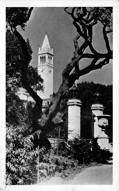 Sather Gate and Sather Tower, University of California