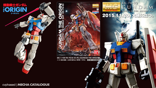 MG RX-78-02 Gundam [Gundam The Origin Ver.]