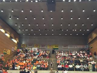Reunião sobre custeio sindical