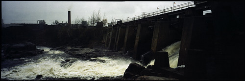 ontario canada 120 film rain panaoramic medformat sturgeonfalls g617