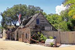 The Oldest Wooden School House - Saint Augustine (Florida)