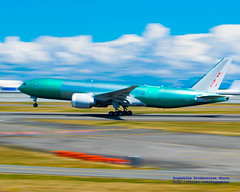 RISING BOEING 777 FREIGHTER B-2093