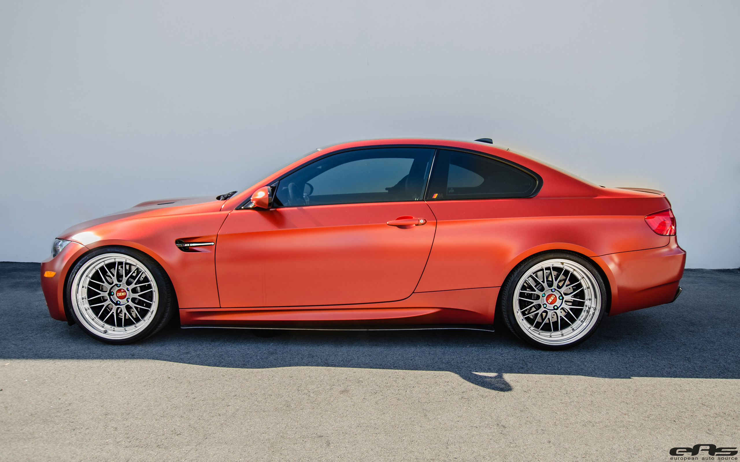 Frozen Red Metallic E92 M3 For The Show Bmw Performance Parts Services