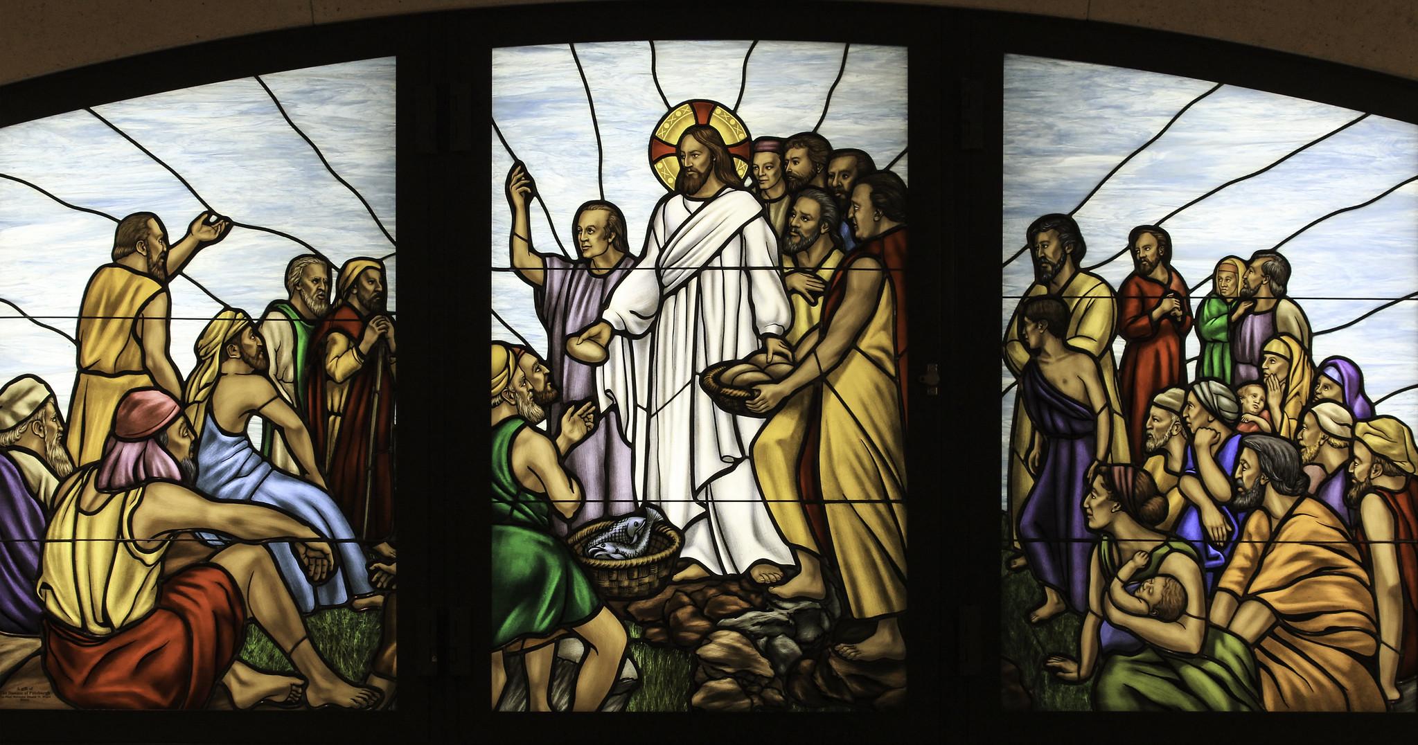Christ Feeding the Multitude