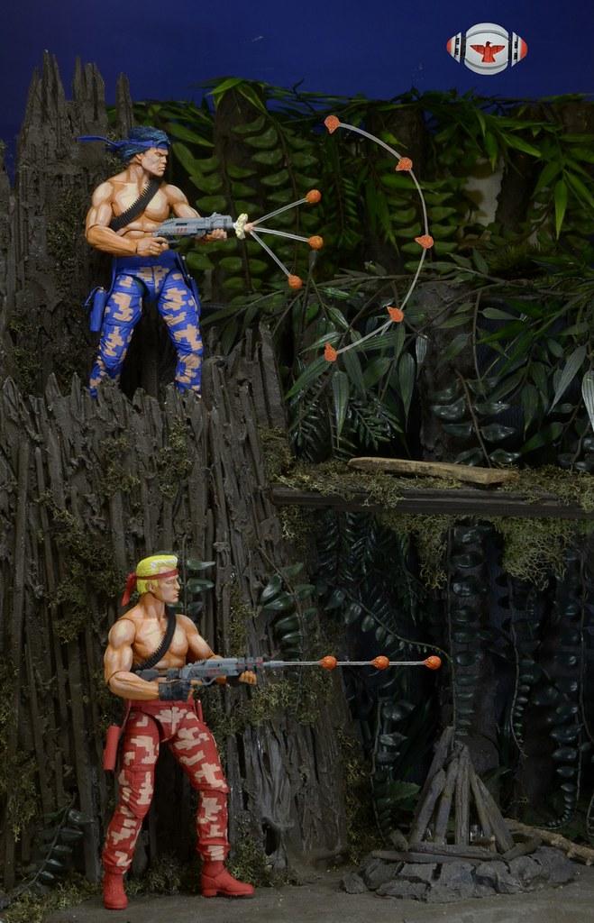 上上下下左右左右BA!NECA 推出經典電玩《魂斗羅》主角雙人包
