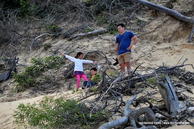 Climbing Sand Dunes Carlo Sand Blow