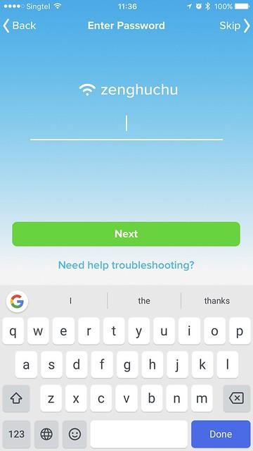 Anova Wi-Fi iOS App - Wi-Fi Setup #4
