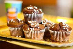 Muffin al cioccolato ricetta, ricette dolci americ…