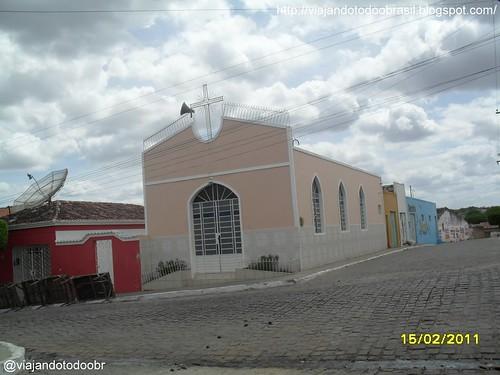 Dois Riachos - Igreja Nossa Senhora da Saúde