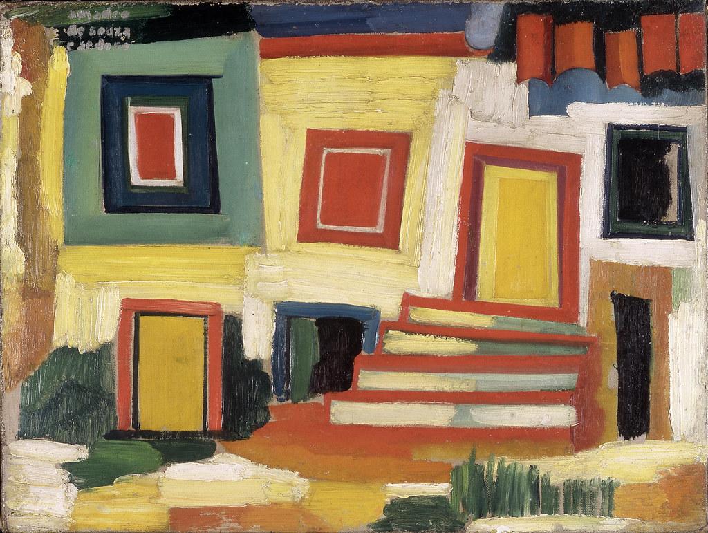 13.- A casita clara paysagem, 1915. óleo sobre tela, Coleção Museu Caloustre Gulbenkian
