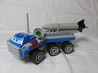 Cars Space Rocket Launcher