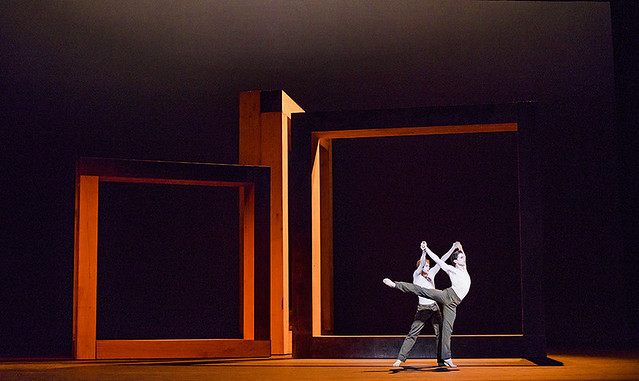 Production photo of Wayne McGregor's Woolf Works ©2015 ROH. Photograph by Tristram Kenton