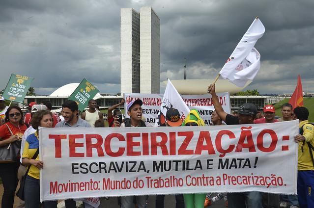 Editado pelo governo FHC em 1998, PL 4302 foi resgatado recentemente por governistas  - Créditos: Wilson Dias/Agência Brasil
