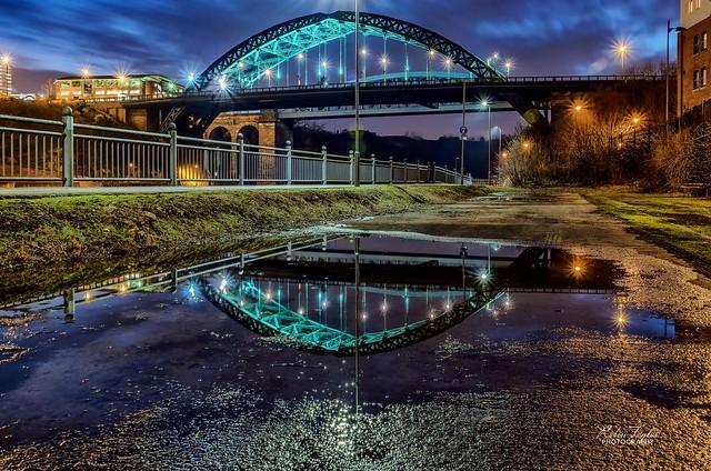 Sunderland Cityscape Reflections