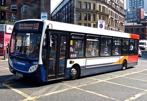 MX59 JAO 'Stagecoach Manchester' No. 36095 Dennis Dart SLF / Alexander Enviro 200  on Dennis Basford's 'railsroadsrunways.blogspot.co.uk'