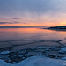 Frozen Gulf of Finland