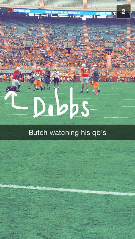 Best of: Snapchat #VolsOpenPractice 2015