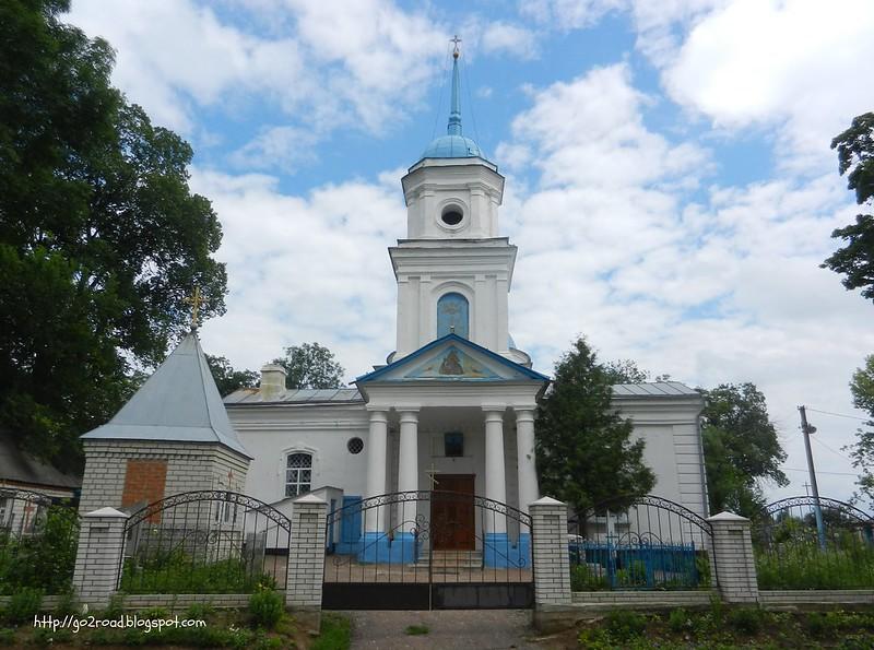 Вознесенская церковь Глухов