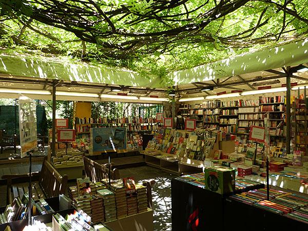 librairie sous les frondaisons