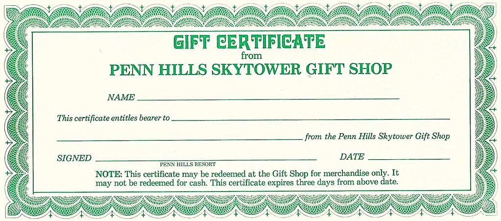 Penn Hills Gift Shop