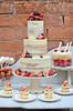 Naked wwedding cake trifle by Ben The Cake Man