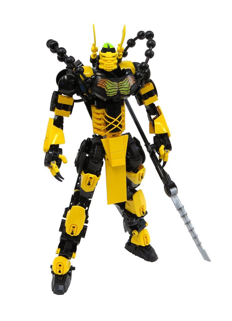 Kikuro the Yellow Warrior