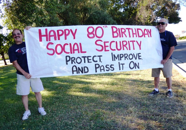 Social Security 80th Anniversary events