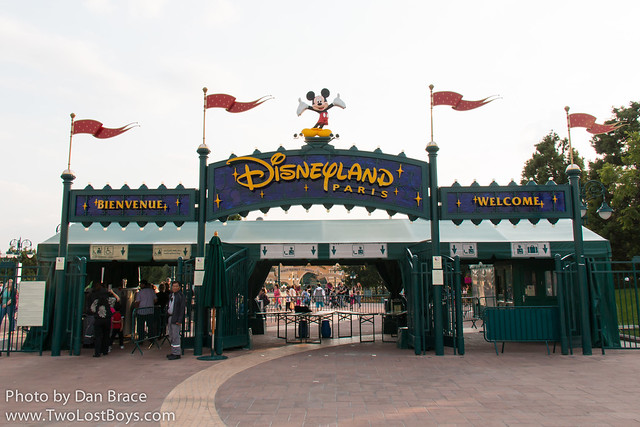 Heading into the parks