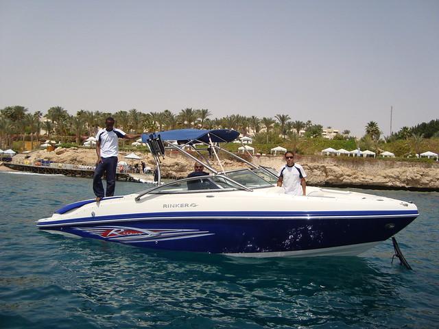 Mon, 04/02/2012 - 11:07 - Boshra 8.5 Meter Rinker. Mercruiser 390hp