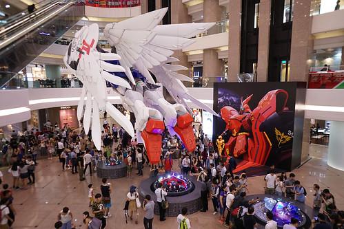 Gundam Docks at Hong Kong II