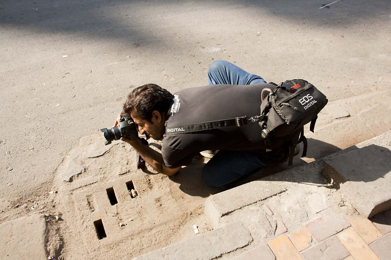 Photographer Anirban at Kolkata Street - Kolkata, India