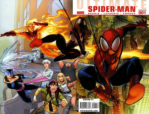Ultimate Spider-man comics 3