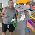 Parapan  - Pachi Visits Abilities Centre Ahead of Games