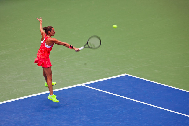 US Open Womens Finals Vinci