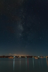 Grand baie and the milky way