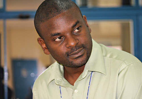 Fred Kizito, Senior Scientist at the International Center for Tropical Agriculture (CIAT) (photo credit: CIAT)