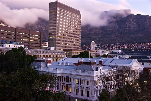 Scenic view from the Taj Cape Town Hotel