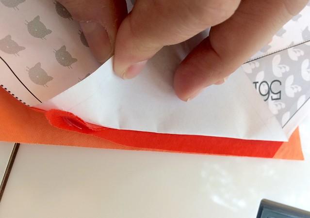 Paper piecing mini tutorial