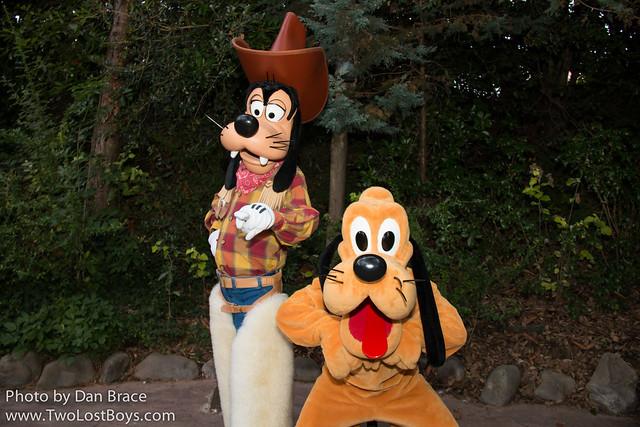 Goofy and Pluto