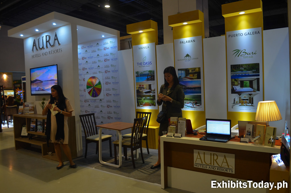 Aura Hotels and Resorts Exhibit Booth