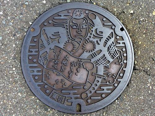 Komatsu Ishikawa, manhole cover 2 (石川県小松市のマンホール2)