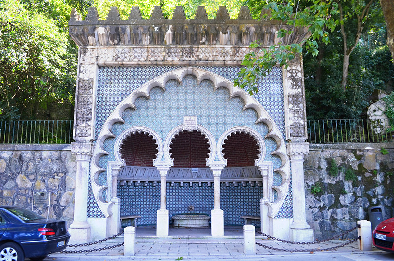 Moorish Fountain, Sintra, Portugal