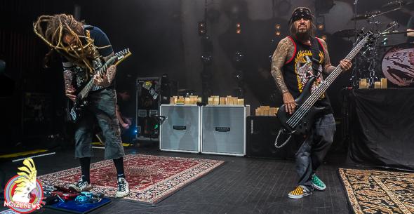 Korn in Detroit and Columbus
