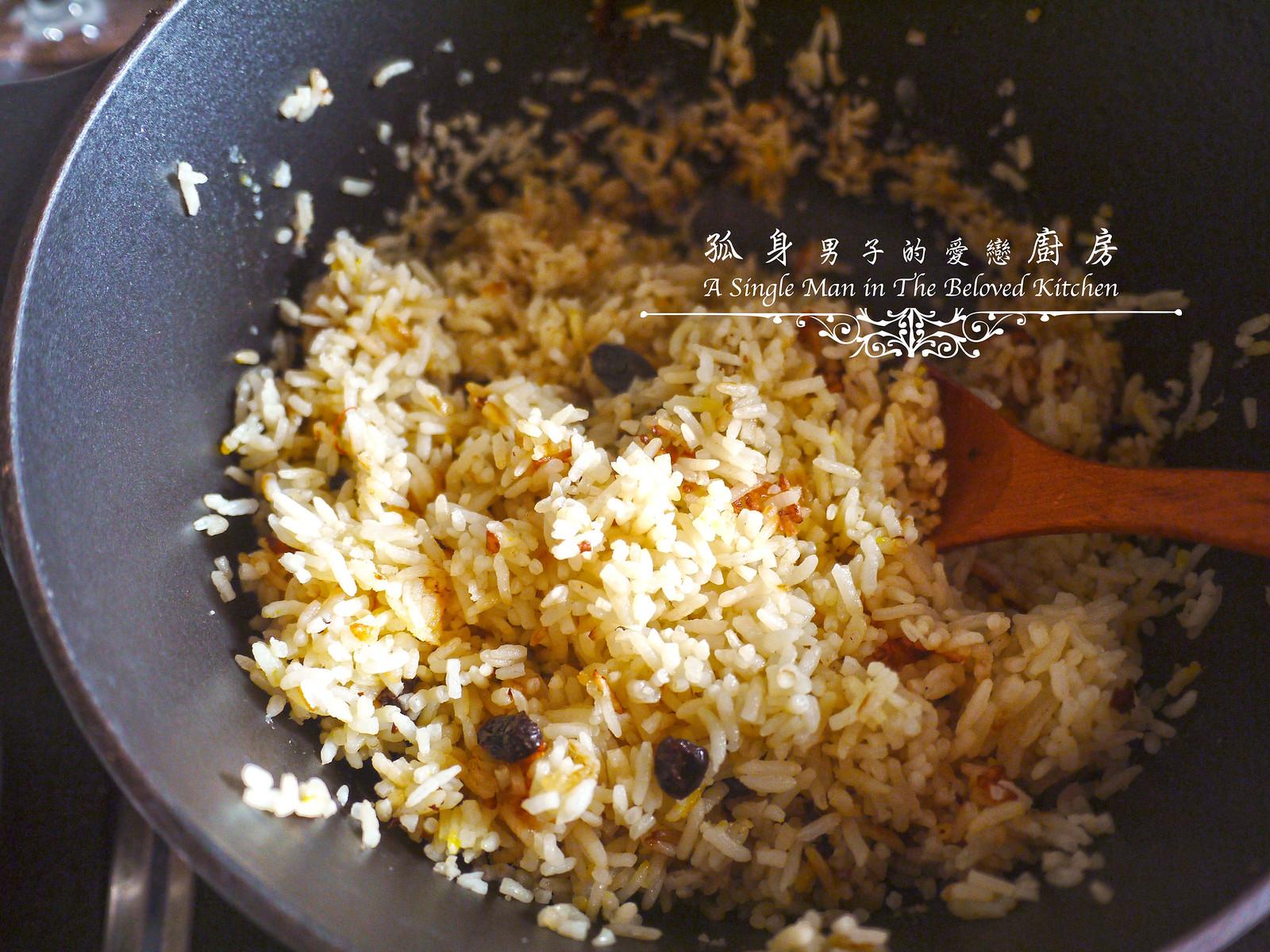 孤身廚房-蕃茄橄欖燴雞肉佐番紅花香米35