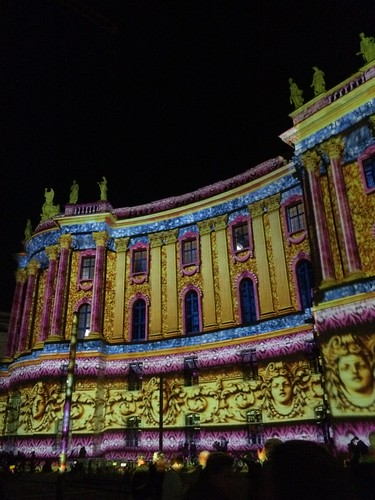 Berlin Festival of Lights 2015 Humboldt University Faculty of Law