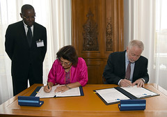 Uganda Signs Tax Agreement with OECD.