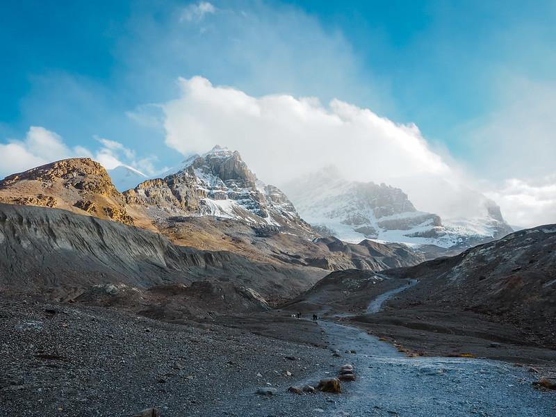 Athabasca Glacier in Alberta, Canada