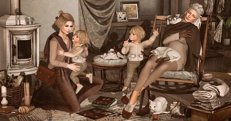 """Amelie et les petites: """"Shhh..."""""""